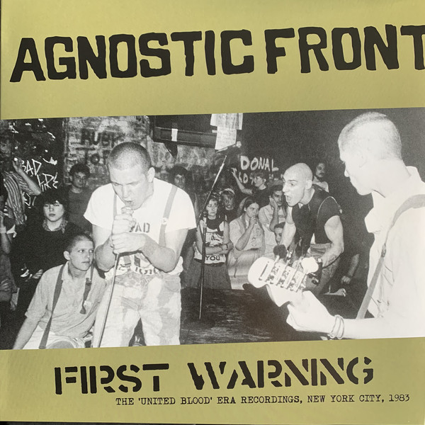 Agnostic Front, First Warning, LP