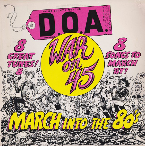 DOA, War on 45, Lp