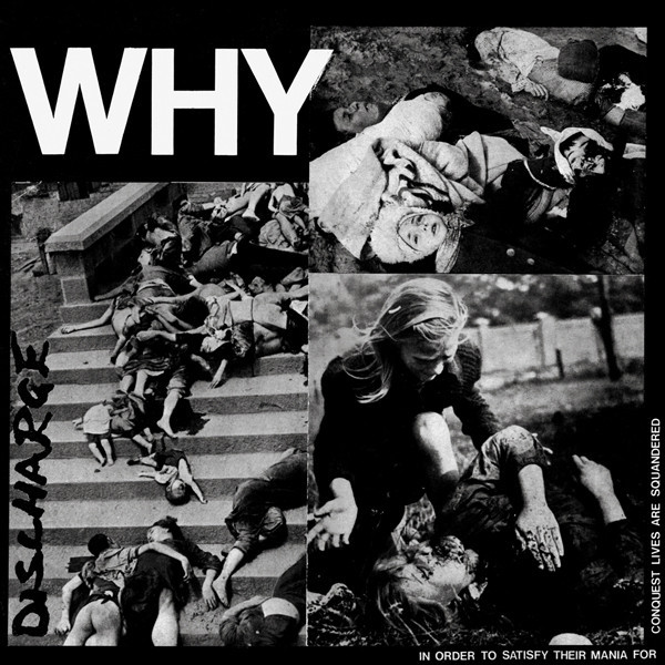 Discharge, Why, 12""