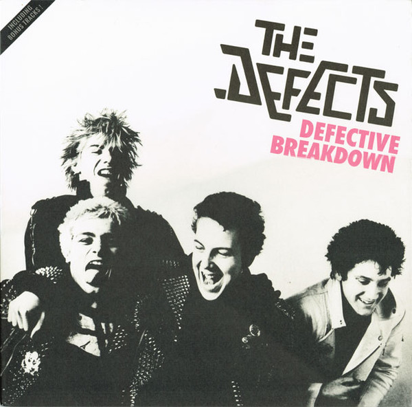 The Defects, Defective Breakdown LP, Maltraste Records