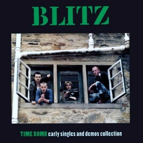 Blitz ‎– Time Bomb Early Singles And Demos Collection LP