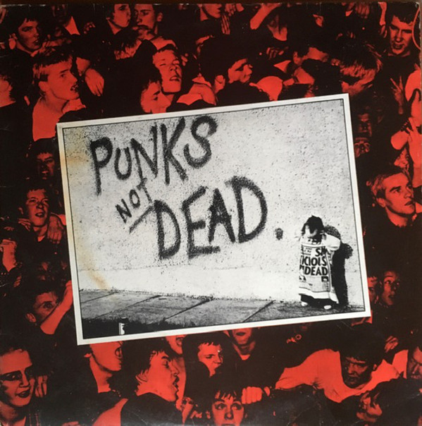 Exploited, Punks not Dead, LP, Maltraste Records