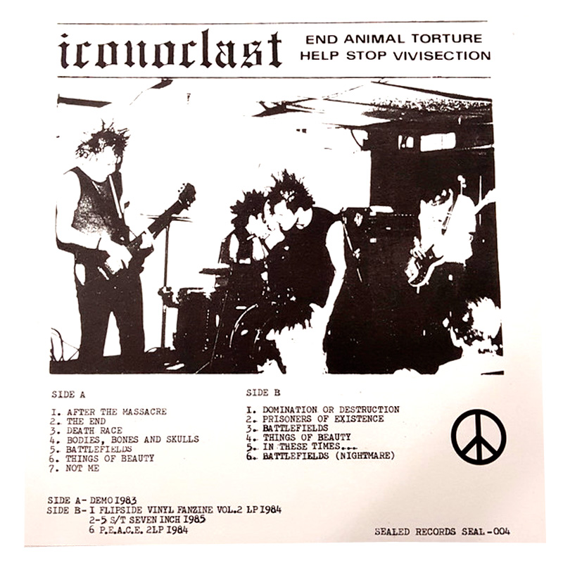 Iconoclast, Domination or Destruction LP