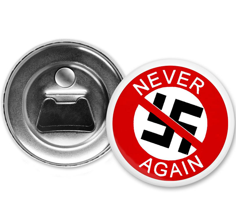 Nazi Never Again, Chapa Antinazi